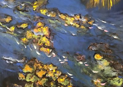 84 Leaves on a Lake