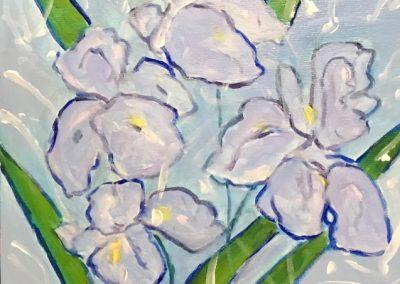 627. Irises