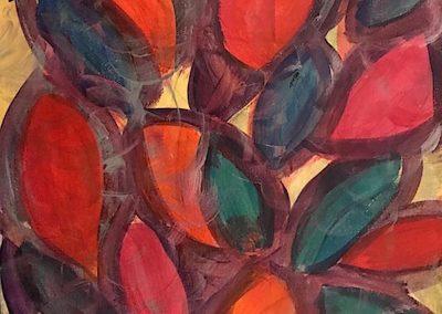 793. Red Botanical